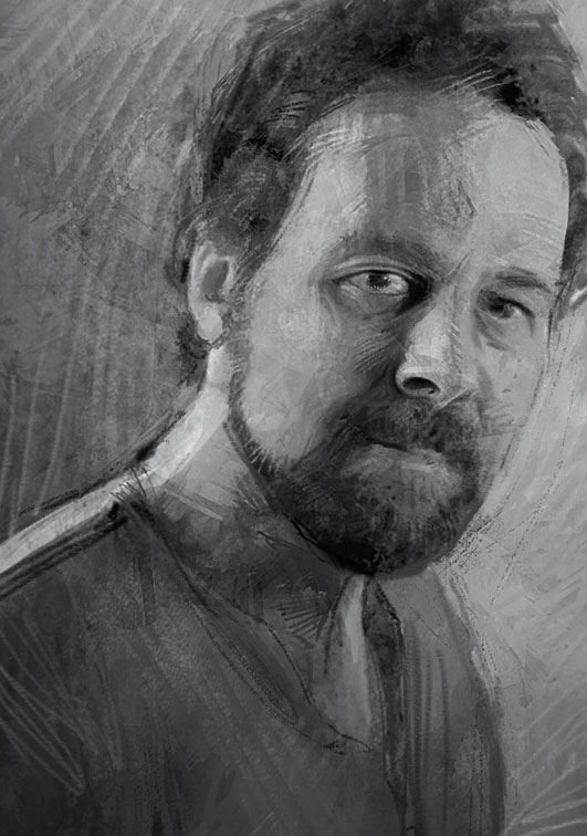 Torsten Wolber, geboren 1964, studierte von 1987 bis 1992 Graphik-Design und Illustration an der FH Köln. Nach Arbeiten für Fernsehproduktionen machte er sich 2000 endgültig mit Illustrationen selbstständig und arbeitet seitdem für Magazine mit Schwerpunkt Covergestaltung sowie für Werbeagenturen.